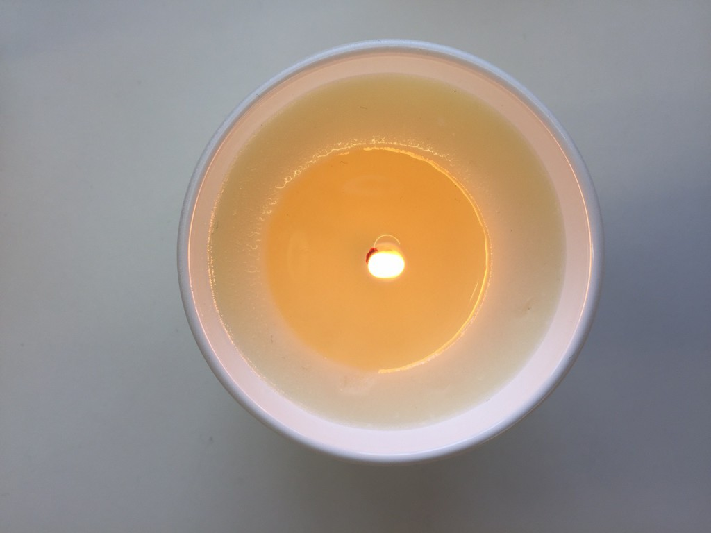 Tunneling Candle