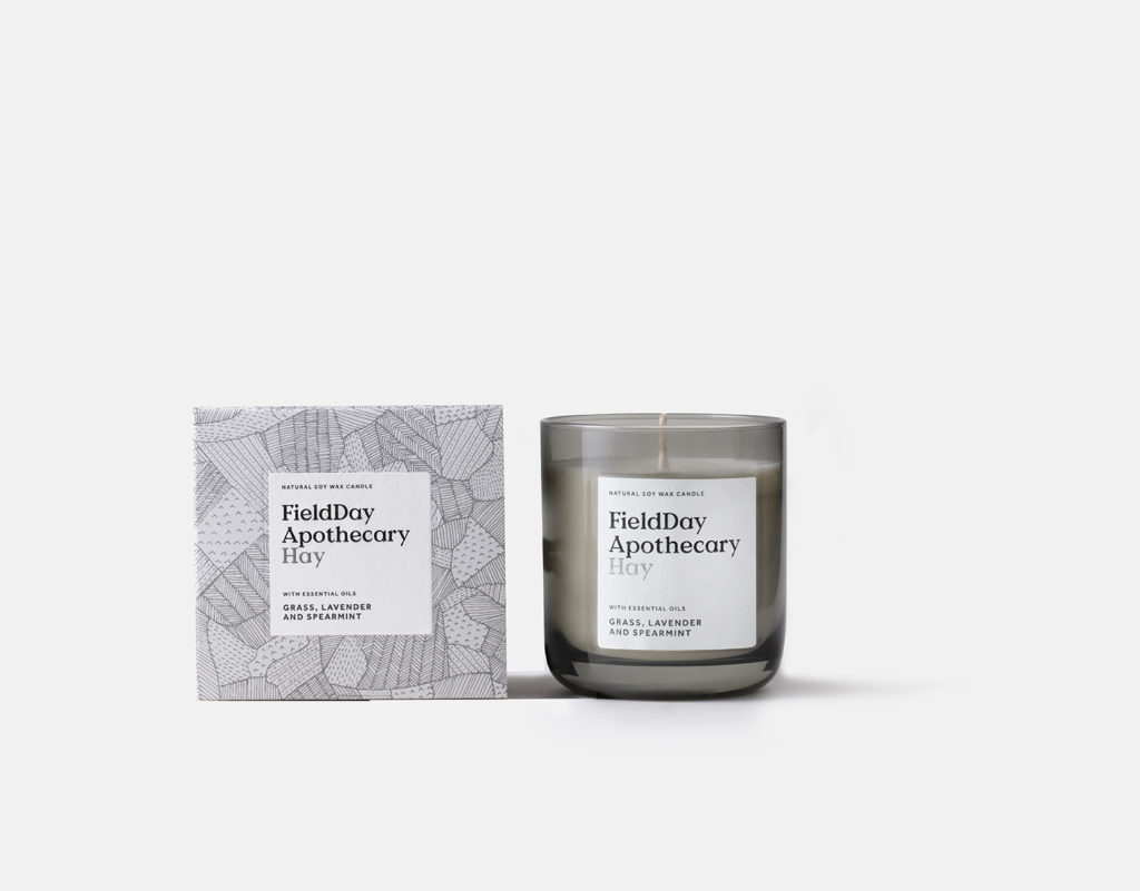 Field Apothecary Hay Candle