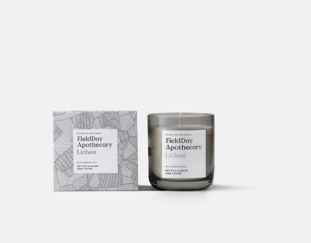 Field Apothecary Lichen Candle
