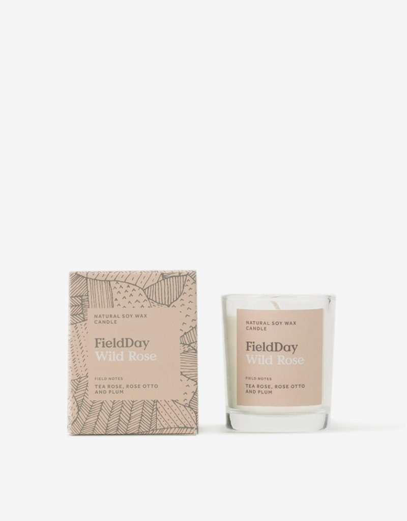FieldDay Wild Rose Small Candle