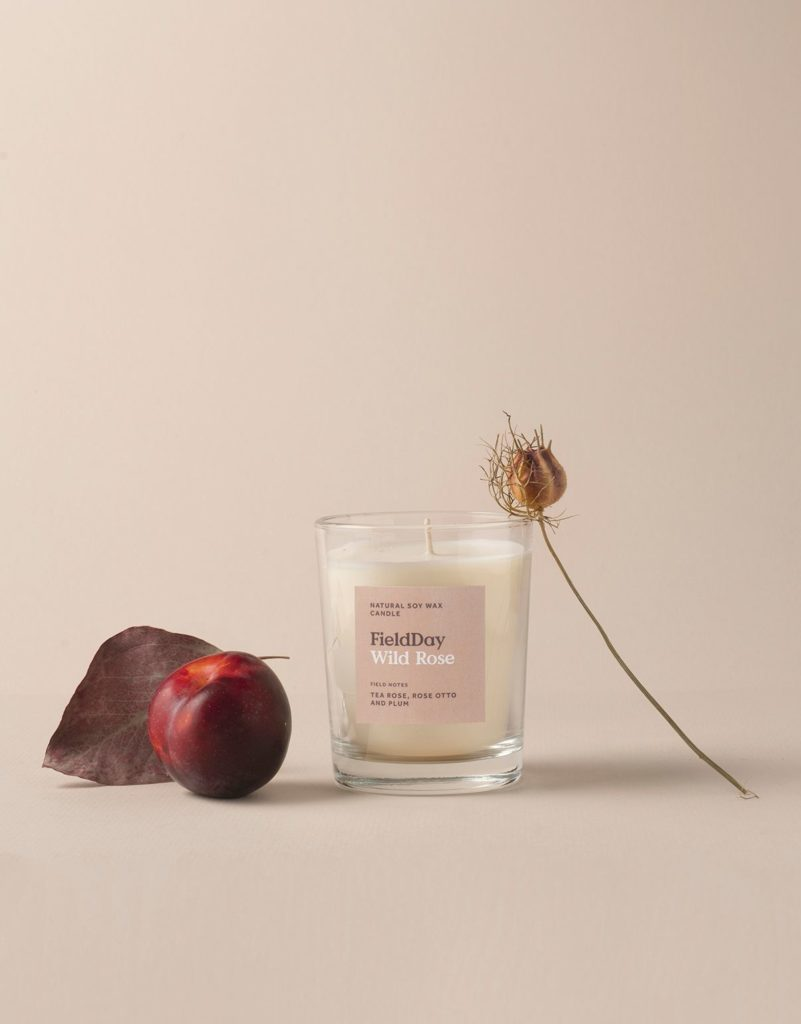 FieldDay Wild Rose Large Candle